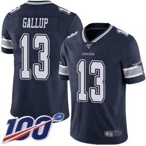 Dallas Cowboys Michael Gallup 100th Season Jersey